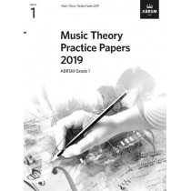 Music Theory Practice Papers 2019, ABRSM Grade 1 by ABRSM, 9781786013651