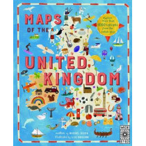 Maps of the United Kingdom by Rachel Dixon, 9781786030252