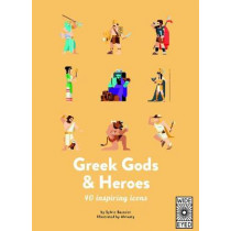 40 Inspiring Icons: Greek Gods and Heroes: Meet 40 mythical immortals by Sylvie Baussier, 9781786031471