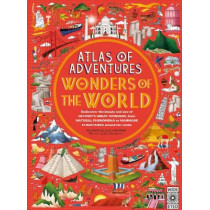 Atlas of World Wonders by Lucy Letherland, 9781786032171