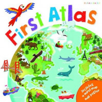 C48 First Atlas Book by Phillip Steele, 9781786172242