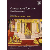 Comparative Tort Law: Global Perspectives by Mauro Bussani, 9781786438416