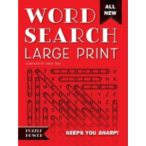 Word Search Large Print (Red): Word Play Twists and Challenges by Daisy Seal, 9781786647627
