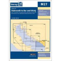 Imray Chart M27: Dubrovnik to Bar and Ulcinj by Imray, 9781786790477