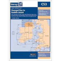 Imray Chart C53: Donegal Bay to Rathlin Island by Imray, 9781786790583