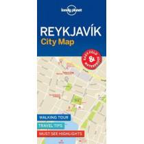 Lonely Planet Reykjavik City Map by Lonely Planet, 9781787014466