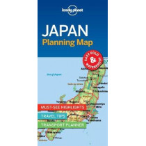 Lonely Planet Japan Planning Map by Lonely Planet, 9781787014510
