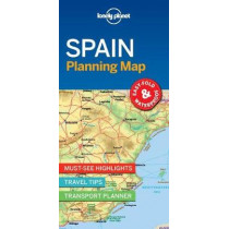 Lonely Planet Spain Planning Map by Lonely Planet, 9781787014527