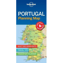 Lonely Planet Portugal Planning Map by Lonely Planet, 9781787014534