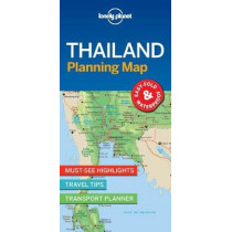 Lonely Planet Thailand Planning Map by Lonely Planet, 9781787014558