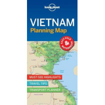 Lonely Planet Vietnam Planning Map by Lonely Planet, 9781787014565