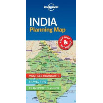 Lonely Planet India Planning Map by Lonely Planet, 9781787014572
