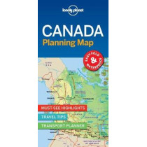 Lonely Planet Canada Planning Map by Lonely Planet, 9781787014589