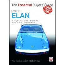 Lotus Elan: S1, S2, S3, S4 & Sprint 1962 to 1973 - Plus 2, Plus 2S 130/5 1967 to 1974 by Matthew Vale, 9781787112865
