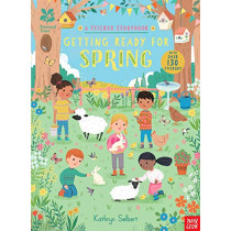 National Trust: Getting Ready for Spring, A Sticker Storybook by Kathryn Selbert, 9781788004107