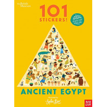 British Museum 101 Stickers! Ancient Egypt by Sophie Beer, 9781788006408