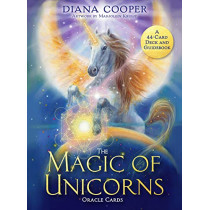 The Magic of Unicorns Oracle Cards: A 44-Card Deck and Guidebook by Diana Cooper, 9781788174510