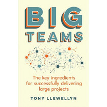 Big Teams: The key ingredients for successfully delivering large projects by Tony Llewellyn, 9781788601047