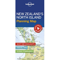 Lonely Planet New Zealand's North Island Planning Map by Lonely Planet, 9781788685986