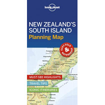 Lonely Planet New Zealand's South Island Planning Map by Lonely Planet, 9781788685993