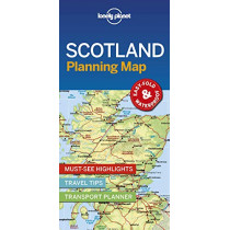 Lonely Planet Scotland Planning Map by Lonely Planet, 9781788686051