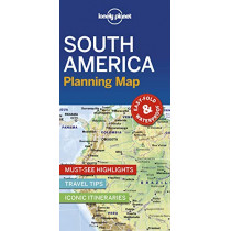 Lonely Planet South America Planning Map by Lonely Planet, 9781788686068
