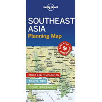Lonely Planet Southeast Asia Planning Map by Lonely Planet, 9781788686082