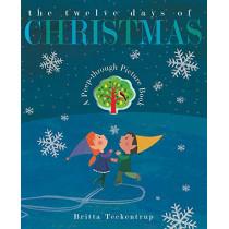 The Twelve Days of Christmas by Britta Teckentrup, 9781788814706
