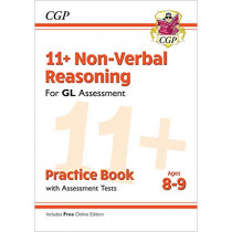 New 11+ GL Non-Verbal Reasoning Practice Book & Assessment Tests - Ages 8-9 (with Online Edition) by CGP Books, 9781789081619