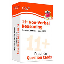 New 11+ CEM Non-Verbal Reasoning Practice Question Cards - Ages 10-11 by CGP Books, 9781789083842