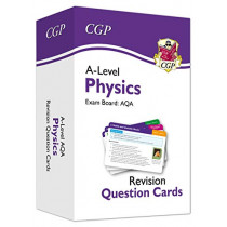 New A-Level Physics AQA Revision Question Cards by CGP Books, 9781789085945