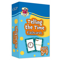 New Telling the Time Home Learning Flashcards for Ages 5-7 by CGP Books, 9781789086164