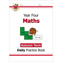 New KS2 Maths Daily Practice Book: Year 4 - Autumn Term by CGP Books, 9781789086522