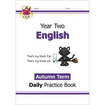 New KS1 English Daily Practice Book: Year 2 - Autumn Term by CGP Books, 9781789086782