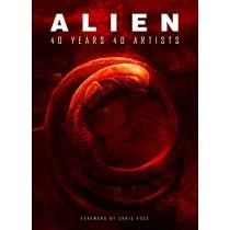 Alien: 40 Years 40 Artists, 9781789091380
