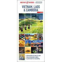 Insight Guides Flexi Map Vietnam, Cambodia and Laos by Insight Guides, 9781789199376