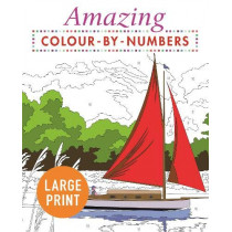 Amazing Colour-by-Numbers Large Print by Arcturus Publishing, 9781789500509
