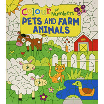 Colour by Numbers: Pets and Farm Animals by Claire Stamper, 9781789503746