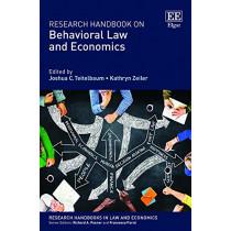 Research Handbook on Behavioral Law and Economics by Joshua C. Teitelbaum, 9781789909265