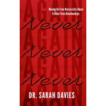 Never Again: Moving On from Narcissistic Abuse and Other Toxic Relationships by Dr Sarah Davies, 9781838590314