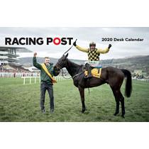Racing Post Desk Calendar 2020 by David Dew, 9781839500213