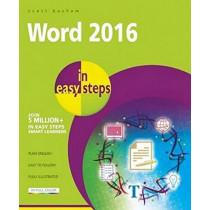 Word 2016 in Easy Steps by Scott Basham, 9781840786521