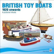 British Toy Boats 1920 Onwards: A Pictorial Tribute by Roger Gillham, 9781845843649