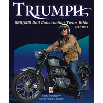 Triumph 350/500 Unit Construction Twins Bible: 1957-1974 by Peter Henshaw, 9781845849030