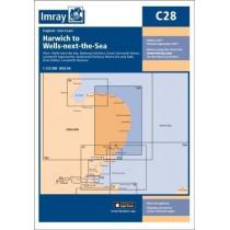 Imray Chart C28: Harwich to Wells-next-the-Sea by Imray, 9781846239380
