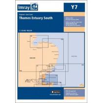 Imray Chart Y7: Thames Estuary South by Imray, 9781846239786