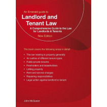 Landlord And Tenant Law: An Emerald Guide by John McQueen, 9781847168375