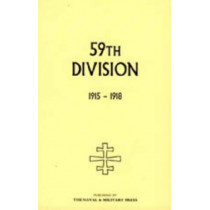 59th Division. 1915-1918: 2004 by E.U. Bradbridge, 9781847344755