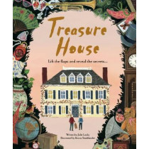 Treasure Hunt House: Lift the Flaps and Solve the Clues... by Julie Lasky, 9781847809575
