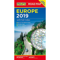 Philip's Europe Road Map by Philip's Maps, 9781849074353